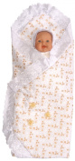 Embroidered Wrap Baby Blanket, Colour