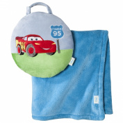 Disney Cars Junior Junction Tuckaway Baby Blanket