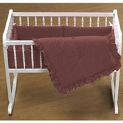 Primary Colours Cradle Bedding - Colour Brown - Size 18X36