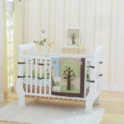 "Just Born ""Busy Bee"" 4-Piece Crib Bedding Set"
