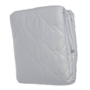 Abstract Waterproof Quilted Crib & Toddler Mattress Pad Cover Fitted