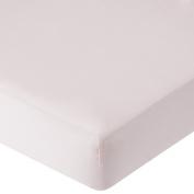 . Percale Crib Sheet - Pink
