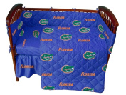 Florida Baby Crib Fitted Sheet - White by College Covers