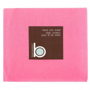 Blue Banana Jersey Knit Fitted Crib Sheet