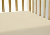 Orangic Cotton Deluxe 260 TC Sateen CRIB Sheet - Size52x28