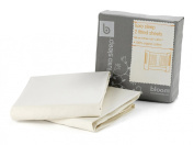 Alma Fitted Sheet 2pc Set - Natural Wheat