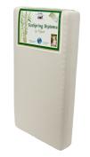 Colgate EcoSpring Diploma Cradletyme Naturals Eco-Friendlier Crib Mattress, Ecru