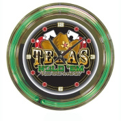 Trademark Texas Hold 'em 36cm Diameter Neon Clock