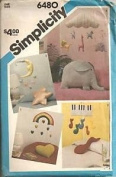 Simplicity 6480 - Set of Mobiles and Pillows - one size