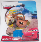 Disney Pixar Cars Night Light New Assorted Styles - Nursery, Kids Decor