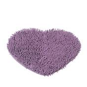 Brightdeal Unique Sweet Love Heart Shape Floor Mats Fluffy Bath Foot Pad Carpet Anti-skid Door Mat