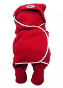 Bug As A Rug Original Fleece Baby Wrap - Red Medium