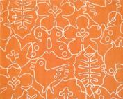 notNeutral Season Rug, White/Persimmon Orange, 1.2m by 1.5m