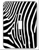 Zebra Skin Print Room Decor