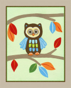 Treetop Forest Animals Nursery Art Prints