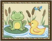 Pond Friends Wiggle Bugs Nursery Art Prints