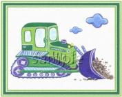 Under Construction - Little Boys Nursery Art Prints