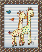 Noah's Ark and Jungle Animal Nursery Art Prints
