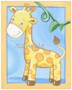 Jungle Babies Nursery Art Prints