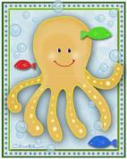 Sealife Ocean Friends Nursery Wall Art