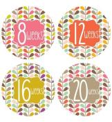 Lucy Darling Shop Pregnancy Belly Sticker - Mod Pattern - Weeks 8 - 40