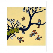Matthew Porter Art Wall Decor Art Print, Count the Birdies