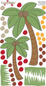 CuteyBaby 30cm x 61cm Illustrated Wall Decals Jungle Cats