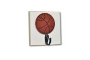 Homeworks Etc Basketball Single Wall Hook, Orange