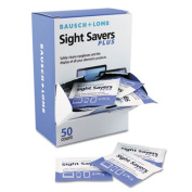 Bausch & Lomb Sight Savers Plus Electronic Cleaning Tissues, 50 Ct