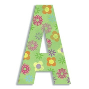 Oversized Hanging Letter A Pattern