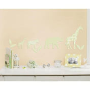 Little Boutique Flocked Decal- Safari Animal