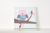 Forwalls Owl Wall Canvas