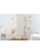 Woodland Wonderland Tree Wall Stickers and Decals Room Decor Kit
