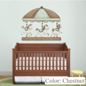 Carousel Wall Sticker Decal for Baby Nursery