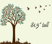 Large Tree Wall Decal Sticker Nursery Kids