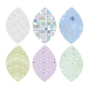 Winter Leaves Fabric Wall Stickers