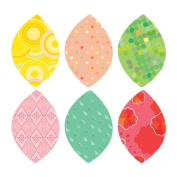 Spring Leaves Fabric Wall Stickers
