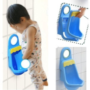 Vktech Children Potty Toilet Training Kids Urinal Plastic for Boys Pee with 4 Suction