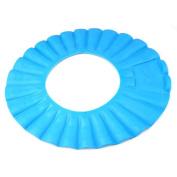 Smallwise Trading Smallwise Trading Blue Baby Child Kid Toddler Bath Time Shampoo Eye Shield Shower Hat Cap Wash Hair