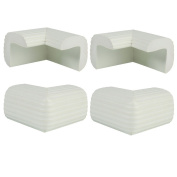 4 Pack Baby Child Infant Kids Safety Safe Table Desk Corner Bumps Cushion Guards Protector