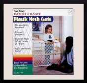 FOUR PAWS PRODUCTS - GATE WOOD FRAME PLASTIC -