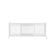 Richell Freestanding Pet Gate, Origami White