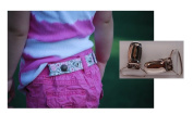 Dapper Snappers Adjustable Toddler Belt with Add-on Clips Included