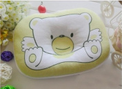Ankin Little Bear Baby Toddler Safe Cotton Pillow Sleep Head Positioner, Infant Safe Side-sleeping Pillow