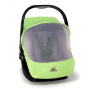 EVC Cosy Sun and Bug Protection Carrier Cover, Green