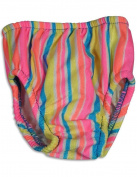 My Pool Pal - Toddler Girls Striped Reusable Swim Nappy