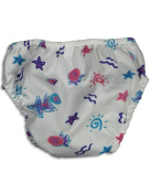 My Pool Pal - Newborn Girls Starfish Reusable Swim Nappy