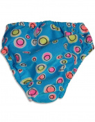 My Pool Pal - Newborn Girls Bubble Dots Reusable Swim Nappy
