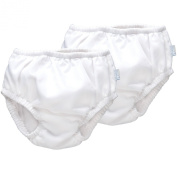iPlay Ultimate Swim Nappy - White, 2 Pack