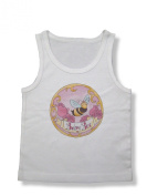 Light of Mine Designs Baby Bee Rib Cotton Infant Tank Top